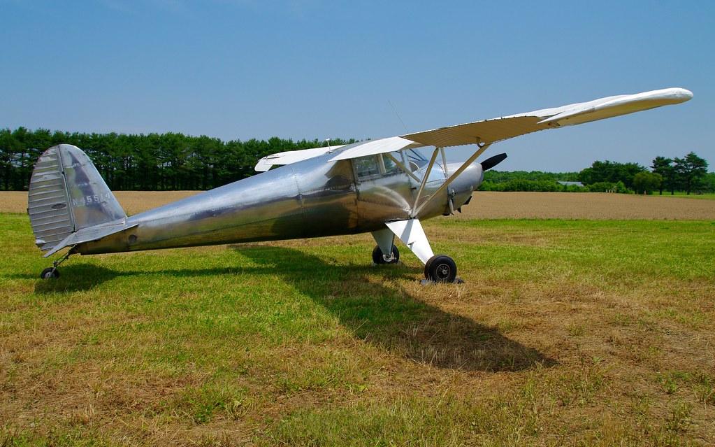 N45514 1946 Luscombe 8A   Antique Airplane Association Antiq