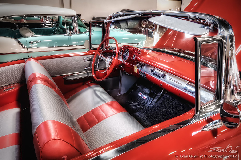 '57 Chevy Bel Air Interior | This is another shot from ...