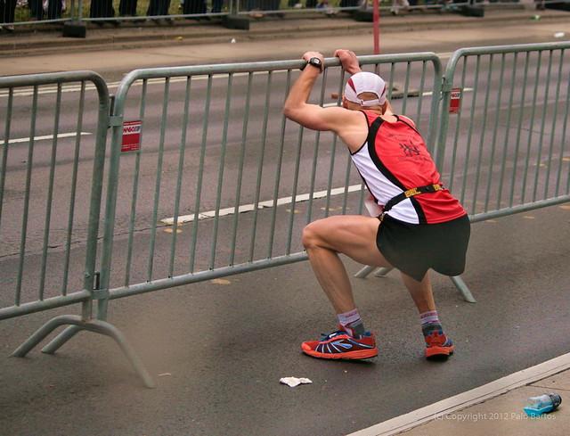 Vienna City Marathon Tough Moment