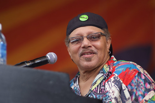 Art Neville at Jazz Fest 2008. Photo Leon Morris.