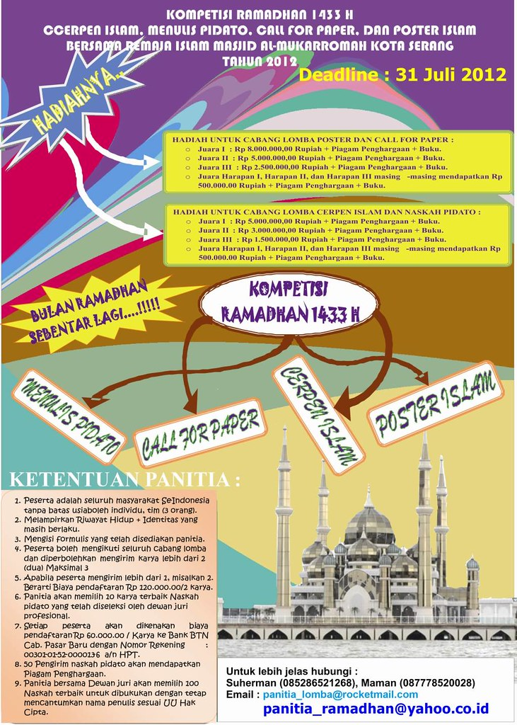 Poster Kegiatan Ramadhan Umum Phandaka Flickr