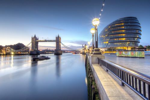 city uk london towerbridge sunrise hall riverthames hdr andrewthomas