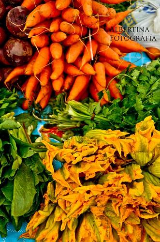 Verduras en grupo