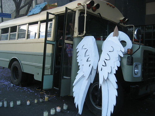 The Corpus Bus and owl wings
