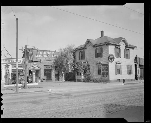 Quincy Shade & Screen Co., 242 Washington Ave., Quincy (company still there, tel. no. 773-0861, 1996)