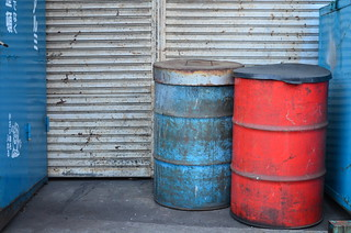 55 Gallon Drums | by the.Firebottle
