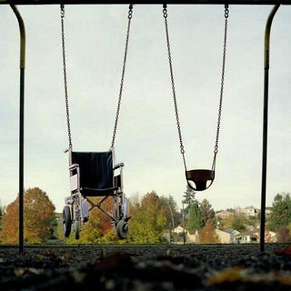 Wheelchair-swing | by srains