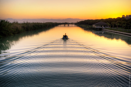 sunset summer holiday beach turkey river landscape boat urlaub antalya belek robinsonclub