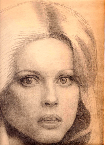 ONJ drawing normal r | Pencil sketch of Olivia Newton-John ...