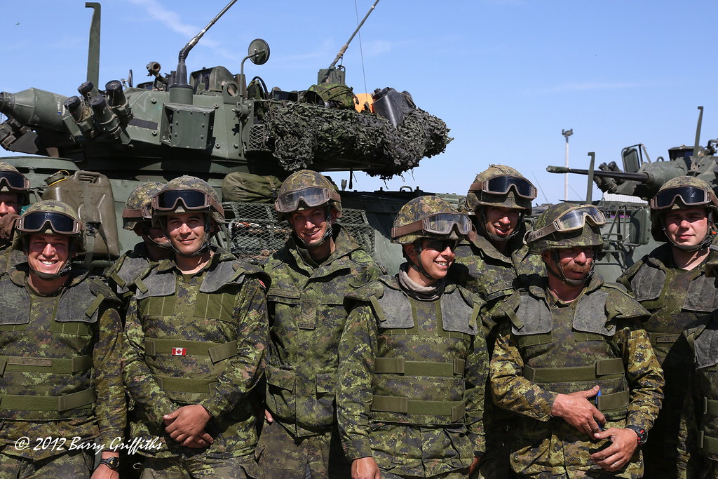 1 Troop, D Squadron, Royal Canadian Dragoons (Armoured), 2