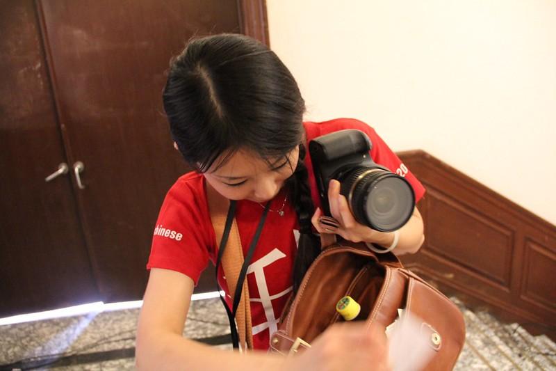 lovely #TEDx volunteer 真心觉得最大的亮点是志愿者们...