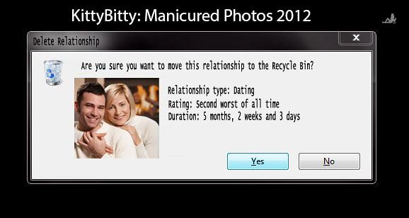 Break Up in Windows 7 | If only break ups were that easy! | Flickr