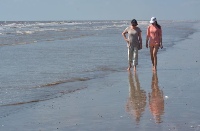 Mother Daughter Walk II