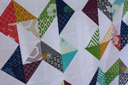 Directions Baby Quilt Top | by Everyday Fray