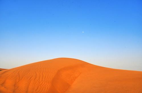 moon sahara dubai desert