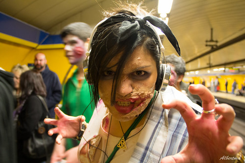 Marcha Zombi 2012 Madrid | by albertma.