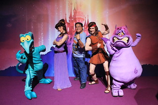 Meeting Hercules, Megara, Pain and Panic | by Castles, Capes & Clones