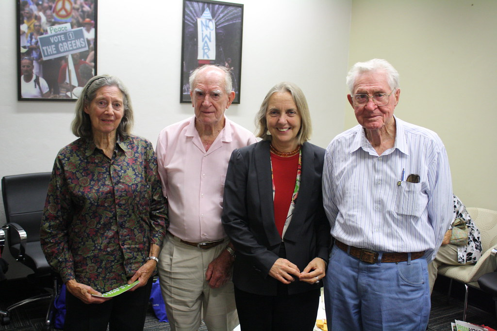 Lee Rhiannon's Older Activists meeting 4