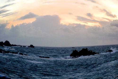 travel blue sunset sea tourism beautiful landscape spring nikon dusk granite guernsey channelisland cobobay d3100