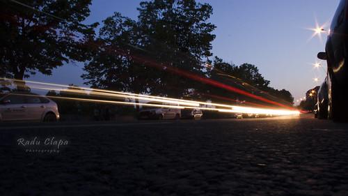street light cars night sunrise project365 photo365 project366