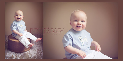 one year photos | by Bitsy Baby Photography [Rita]