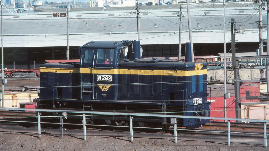 VR_BOX002S17 - W262 at Melbourne Yard by michaelgreenhill