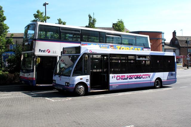 First 53136 (First Essex) EO02NFV
