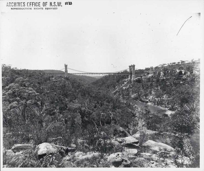 Suspension Bridge, Cammeray (NSW)
