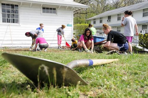 Milton Hershey School Students Volunteer at Fort Indiantown Gap | by PANationalGuard