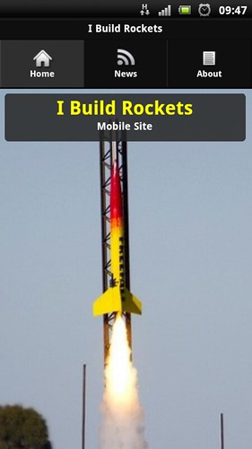 I Build Rockets goes Mobile!! | by Sascha Grant