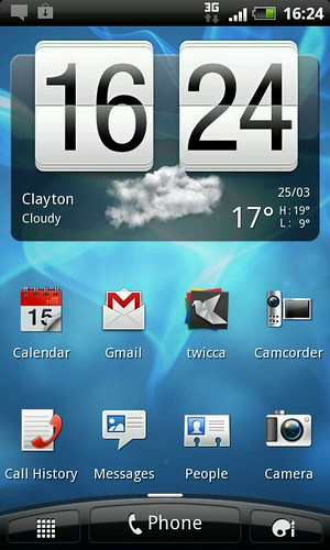 Screen shot from a HTC Desire S | by Daniel Bowen
