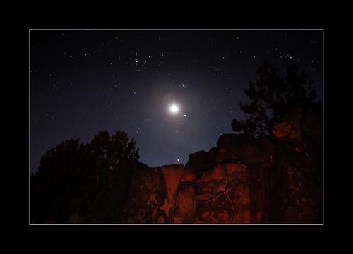 moon newmexico santafe venus jupiter petroglyph conjunction lacieneguillapetroglyphsite Astrometrydotnet:status=solved Astrometrydotnet:version=14400 Astrometrydotnet:id=alpha20120368770169 march262012