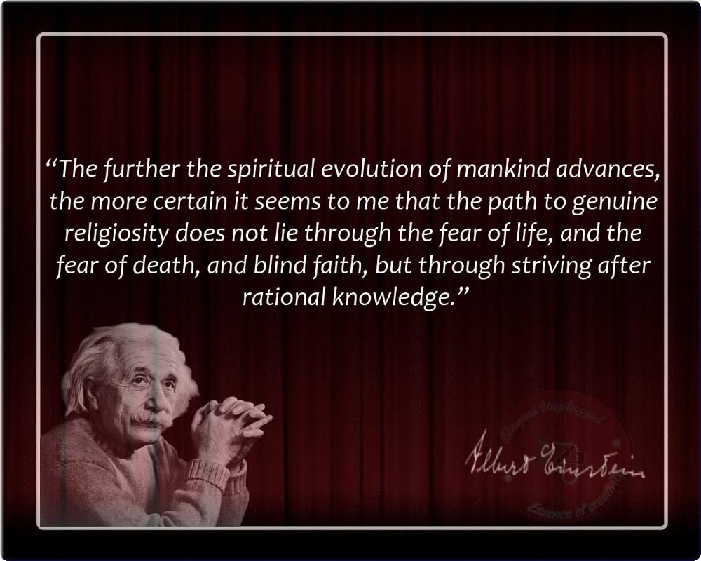 albert einstein quotes the further the spiritu flickr