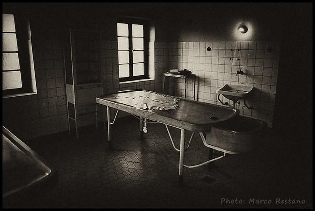 Autopsy room - Theresienstadt (Terezin), Feb. 2012