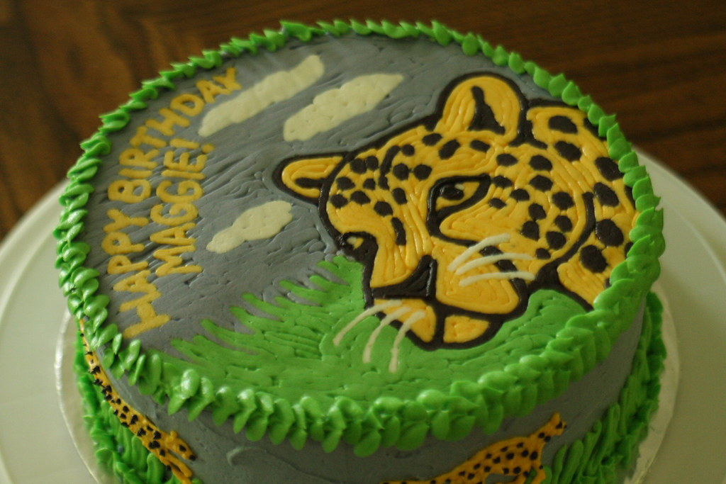 Fine Cheetah Birthday Cake Lori Hernandez Flickr Funny Birthday Cards Online Benoljebrpdamsfinfo