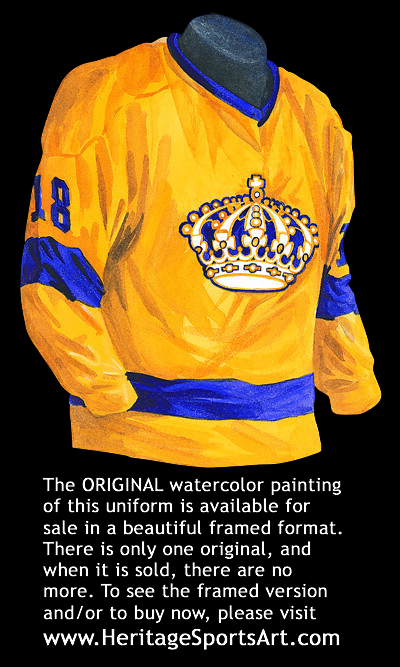info for 78aa9 5f411 Los Angeles Kings 1967-68 jersey artwork   This is a highly ...