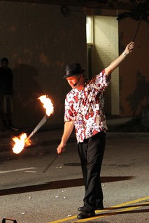 Jonathan the Juggler, playing with fire... | by deternitydx