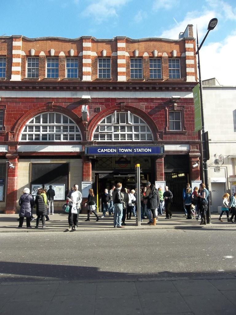 Camden Town: Camden Town Tube Station