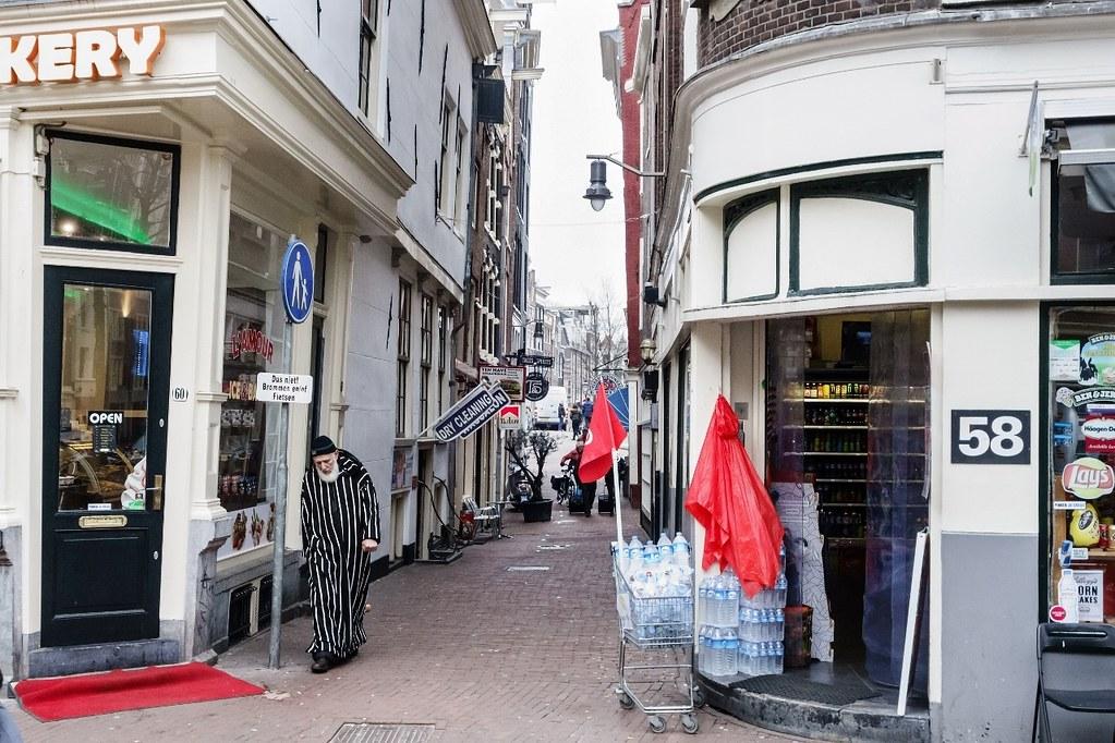Amsterdam, Lijnbaanssteeg..