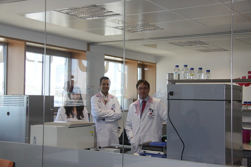 Sara Puertas, Gonçalo Doria and Christian Sánchez, members of Nanoimmunotech Technical Department | by NANOIMMUNOTECH S.L.
