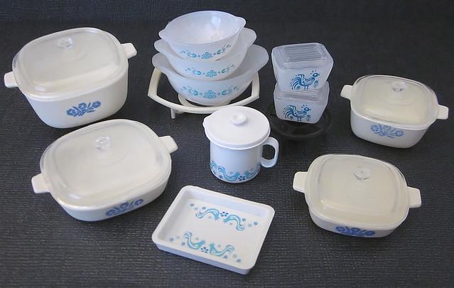 Miniature Corningware