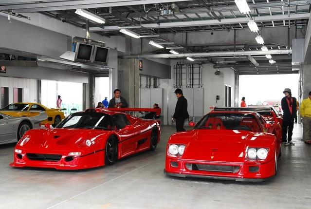 FERRARI F50 GT1 & F40 LM