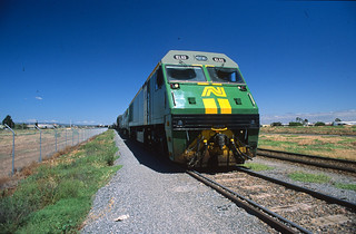 North of Adelaide -  loco EL52 on freight - AN# L-15-15 | by ChrisBearADL