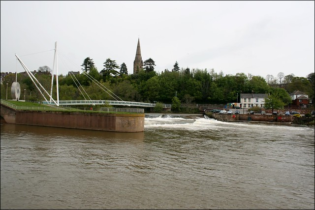 The Exe at the Mill on the Exe