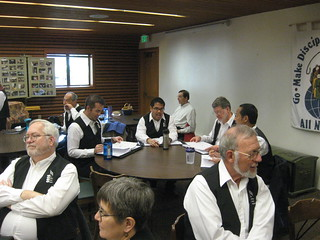 Tenors studying