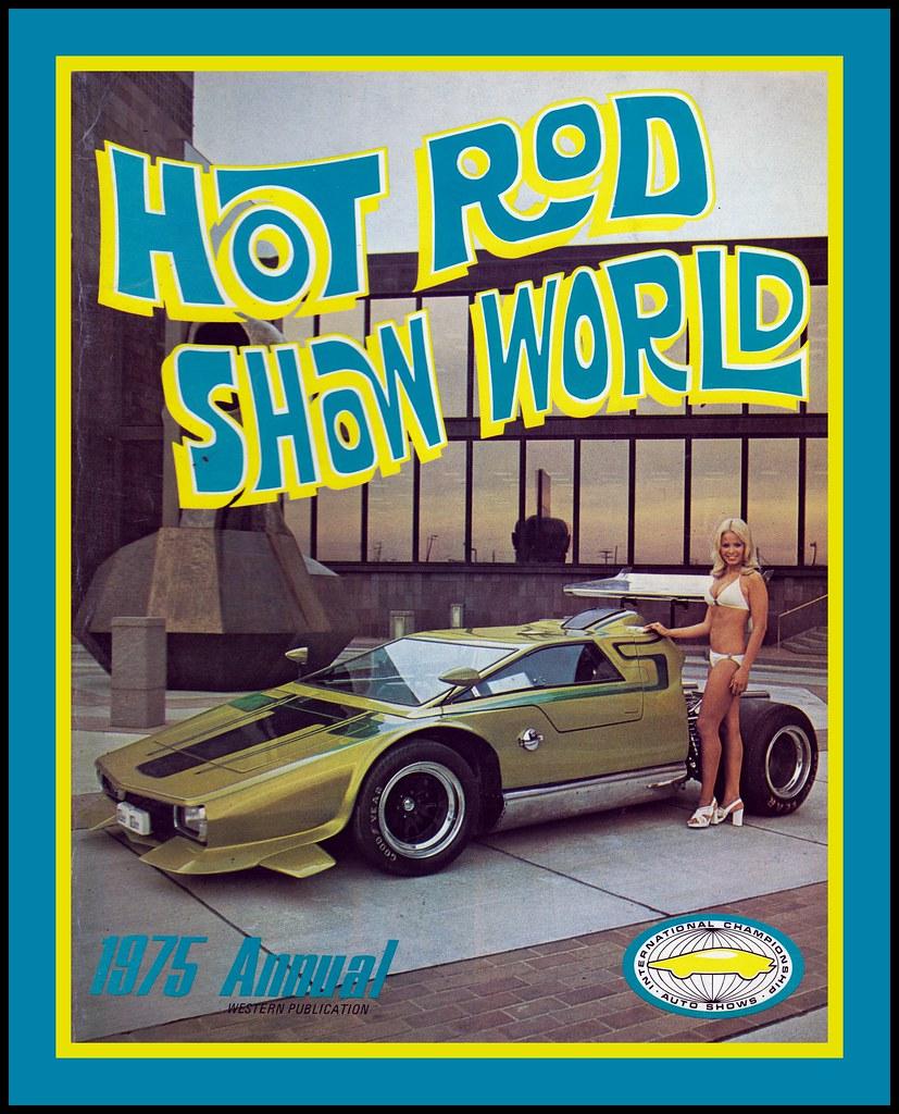 Hot Rod Show World Program, 1975
