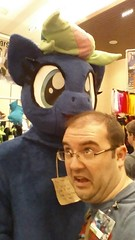 Pony Mannequin Tries To Eat Me