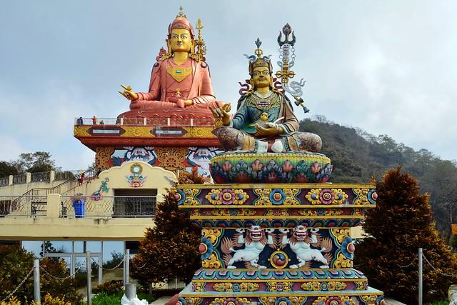 India - Sikkim - Namchi - Samdruptse Hill - Guru Padmasambhava - 26