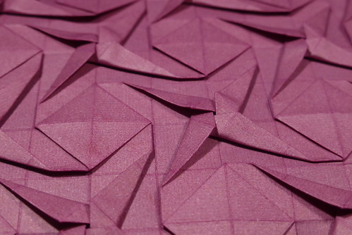 Stars and Squares tessellation — close-up | by Michał Kosmulski