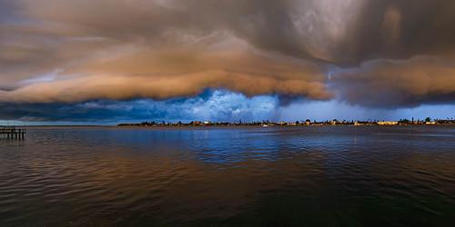 panorama cloud storm clouds digital landscapes florida shelf cameras thunderstorm passagrille locations lenses 2015 shelfcloud camerasandlenses tierraverde afsnikkor28mmf18g jaspcphotography nikond750